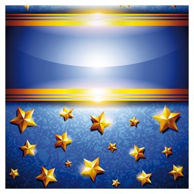 پس زمینه رایگان با ستاره های طلایی با فرمت وکتور (Vector brilliant for free download )