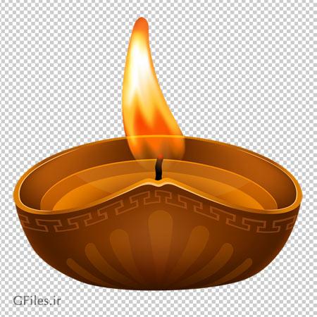 دانلود فایل ترانسپرنت شمع مقدس