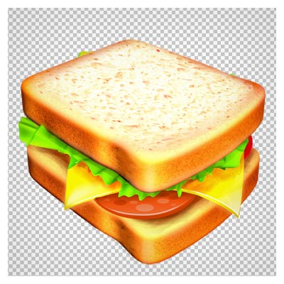 کلیپ آرت و تصویر دوربری شده ساندویچ کالباس