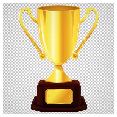 کلیپ آرت و فایل دوربری شده کاپ طلای قهرمانی (جام طلا)