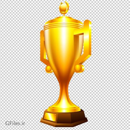 تصویر PNG (بدون زمینه و دوربری شده) کاپ طلای قهرمانی (جام طلا)