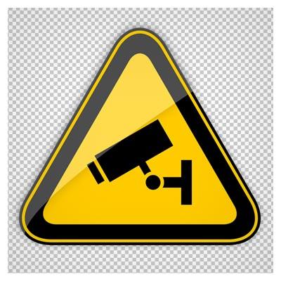 دانلود فایل png تابلوی فیلمبرداری ممنوع (مجهز به دوربین مدار بسته)