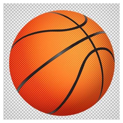 دانلود تصویر با کیفیت توپ بسکتبال با فرمت png (دوربری شده)