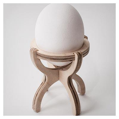 الگوی آماده نگهدارنده تخم مرغ (جا تخم مرغی) با امکان ساخت و برش لیزر و cnc