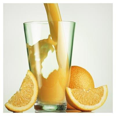 دانلود تصویر با کیفیت پرتقال و لیوان آب پرتقال (HQ Liquid Images)