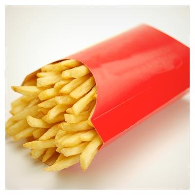 عکس با کیفیت سیب زمینی سرخ کرده (French fries)