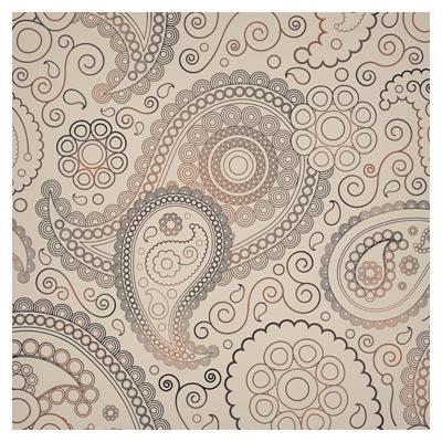 بکگراند لایه باز با طرح ترنج و بته جقه سنتی ، ارائه شده با فرمتهای ai و eps