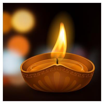 دانلود پس زمینه با طرح شمع مذهبی بصورت لایه باز (eps و ai)