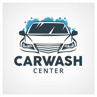 لوگوی لایه باز وکتوری با موضوع کارواش (Carwash Logo Design)