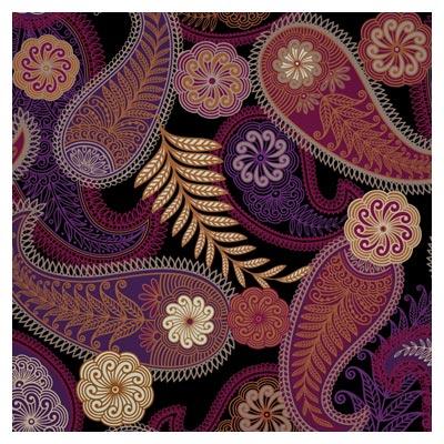وکتور پس زمینه زیبا با طرح نقوش ترنج و ترمه ، ارائه شده با فرمت های لایه باز eps و ai