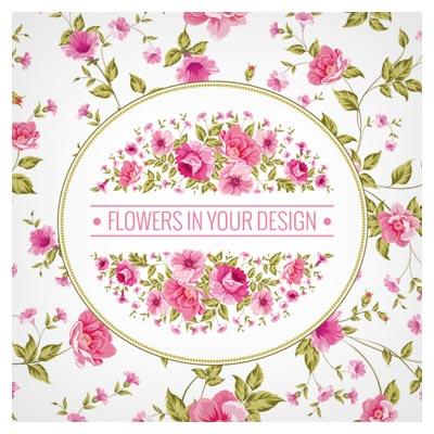 دانلود پس زمینه کارت پستال و کارت دعوت با طرح گل های زیبای رز