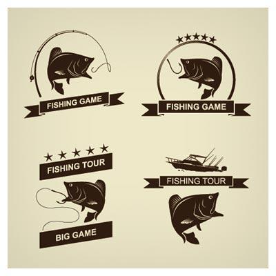 دانلود مجموعه لوگو با موضوع Fishing Tour (ماهیگیری)