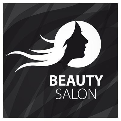 لوگوی طراحی شده آماده مناسب برای آرایشگاه های زنانه و سالن های زیبایی