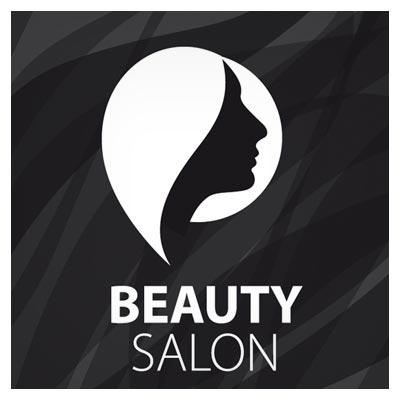 نماد و لوگوی آماده با موضوع سالن زیبایی و آرایشگاه زنانه