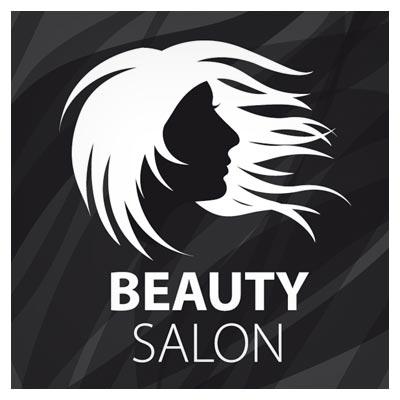 لوگوی وکتوری آماده مناسب برای آرایشگاه های زنانه و سالن های زیبایی