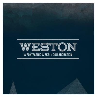 دانلود فونت انگلیسی وستون (Weston Font) با فرمت otf