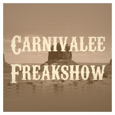 فونت انگلیسی (لاتین) رایگان Carnevalee Freakshow (فونت با سبک کابوی)