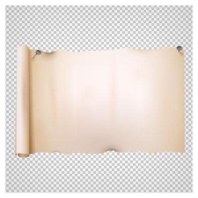 دانلود کاغذ پوستی و طومار قدیمی با کیفیت بالا و فرمت png ترانسپرنت