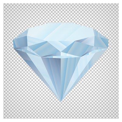 دانلود فایل ترانسپرنت و دوربری شده الماس کارتونی با پسوند png