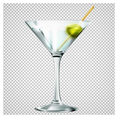 دانلود فایل ترانسپرنت و دوربری شده نوشیدنی در جامِ شیشه ای با پسوند png