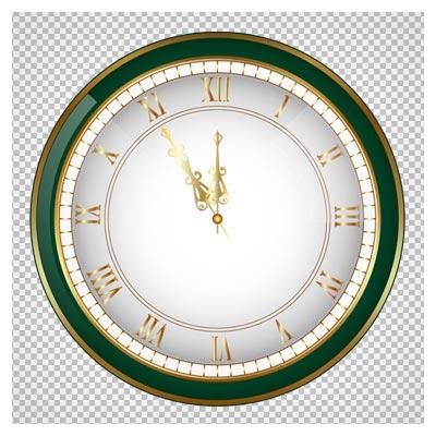 دانلود فایل ترانسپرنت و دوربری شده ساعت دیواری کارتونی با پسوند png