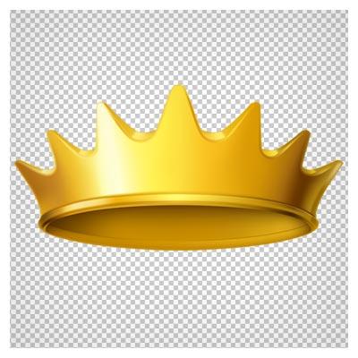 دانلود فایل ترانسپرنت و دوربری شده تاج طلایی با فرمت png