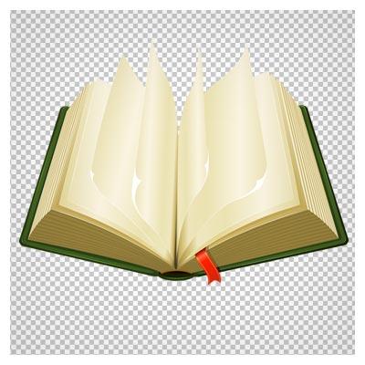 دانلود فایل دوربری شده و بدون پس زمینه کتاب قدیمی کارتونی بی محتوا با پسوند png