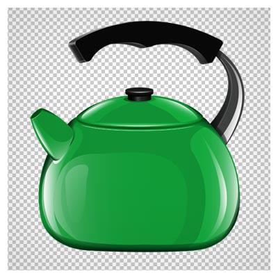 دانلود فایل دوربری شده و بدون پس زمینه کتری سبز با پسوند png