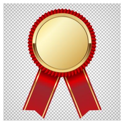 دانلود مدال طلایی افتخار بصورت فایل دوربری شده و بدون پس زمینه با پسوند png