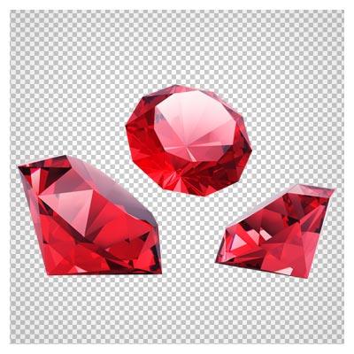 دانلود فایل png الماس های قرمز براق به صورت دوربری شده و فاقد پس زمینه
