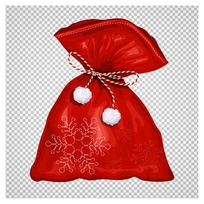 دانلود کیسه هدیه های بابانوئل بصورت فایل دوربری شده و فاقد بکگرند