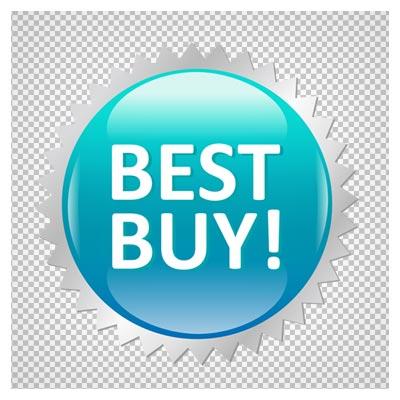 دانلود برچسب و لیبل بهترین خرید بصورت فایل دوربری شده فاقد بکگرند
