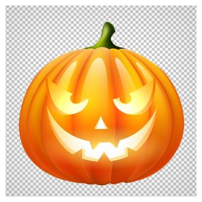 دانلود تصویر کدوی هالووین بصورت فایل دوربری شده و بدون پس زمینه