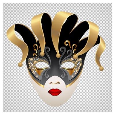دانلود ماسک جشن زنانه (ماسک تئاتر) دوربری شده و فاقد بکگرند