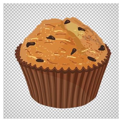 دانلود کیک کشمشی (کیک یزدی) یک نفره با فرمت png و بدون پس زمینه