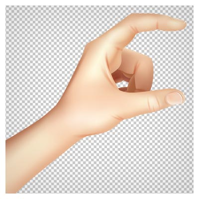 دانلود فایل دوربری شده دست چپ با فرمت png