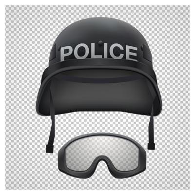 دانلود فایل ترانسپرنت و بدون پس زمینه کلاه نیروی ویژه پلیس