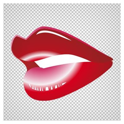 دانلود لب قرمز زنانه با فرمت png و فاقد پس زمینه