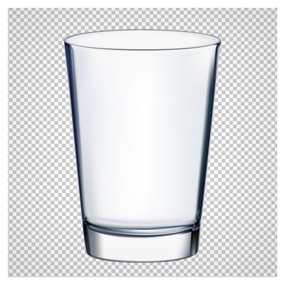 دانلود لیوان خالی شیشه ای بصورت فایل با پسوند png و بدون پس زمینه