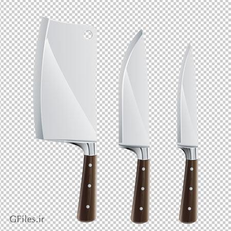 دانلود چاقوها و ساطور کارتونی بصورت فایل فاقد پس زمینه و دوربری شده