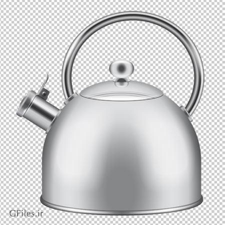 دانلود کتری سوتی نقره ای بصورت فایل فاقد بکگرند با پسوند png