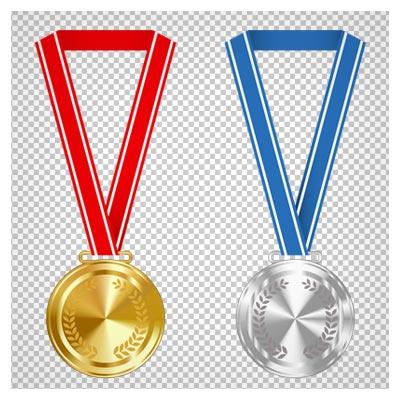 دانلود مدال های طلا ، نقره و برنز بصورت فایل فاقد بکگرند با پسوند png