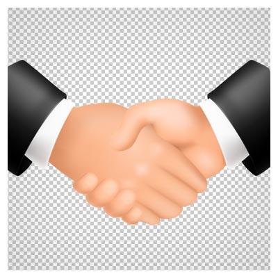 دانلود دست دادن برای همکاری بصورت فایل ترانسپرنت و فاقد بکگرند