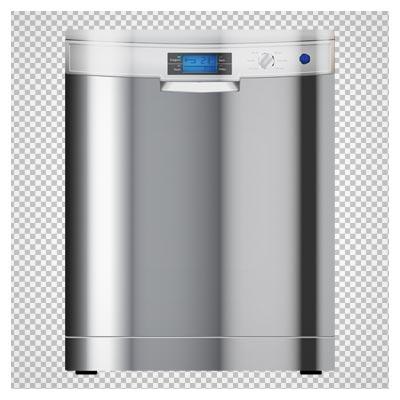 ماشین ظرفشویی استیل با فرمت png و فاقد بکگرند