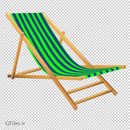 صندلی ساحلی بدون پس زمینه با فرمت png