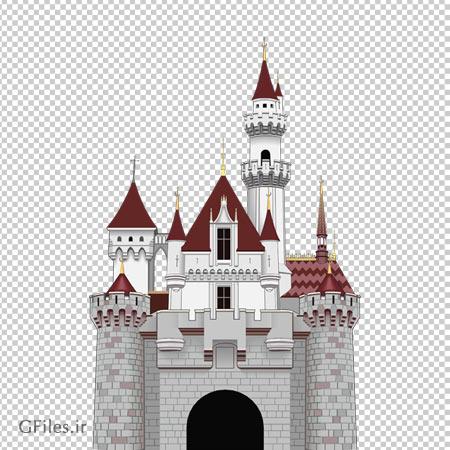 دانلود و خرید تصویر دوربری شده قصر سنگی با فرمت png