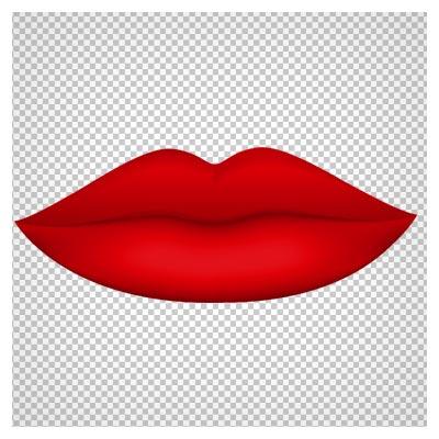 دانلود لب قرمز با پسوند png به صورت فایل ترانسپرنت