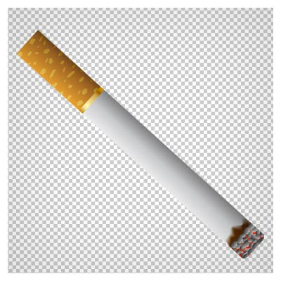 سیگار روشن کارتونی، دانلود بصورت فایل دوربری شده بدون پس زمینه