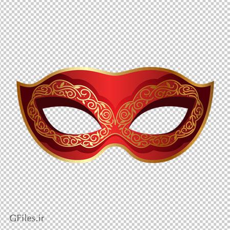 ماسک و نقاب قرمز چشمی با فرمت png و دوربری شده