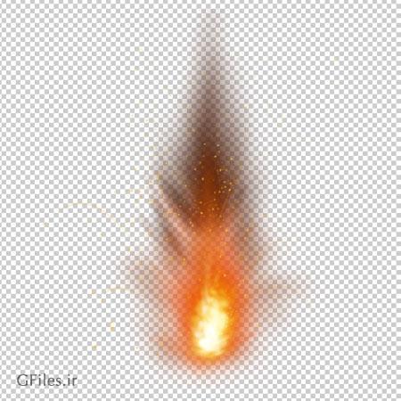 دانلود تصویر فشفشه آبشاری روشن و شعله آتش بدون پس زمینه با فرمت png